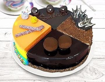 Ассорти тортов: Нузетин, Захер, Три шоколада, Летний день